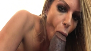 Horny Brooklyn Chase creampie ass licking