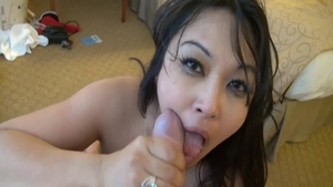 Mika Tan is charming babe