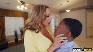 Nailed rough with huge tits Richelle Ryan amongst Elle Ryan