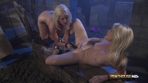 Large tits and dirty blonde Alexis Ford fun with toys