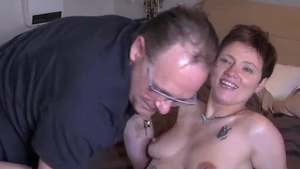 Orgasm together with young french mature