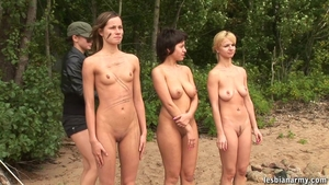 Group sex outdoors between large boobs blonde haired