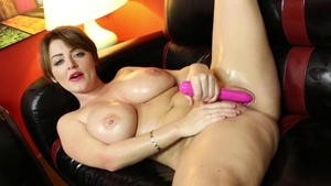 Sophie Dee finds dick to fuck solo