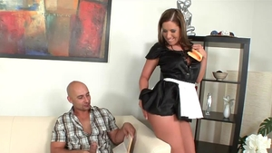 Maid Susanna White got nailed video