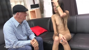 Threesome nude french in HD