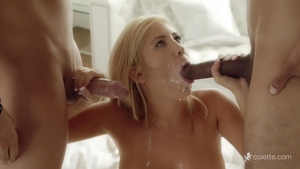 Fabulous blonde finds irresistible ramming hard in HD