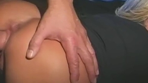 Raw sex accompanied by big ass french mature
