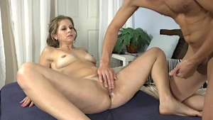 Melissa Rose rough cock sucking sex scene