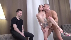 Inked amateur wishes for ramming hard HD