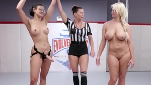 Rough fingering in company with Penny Barber and London RIver