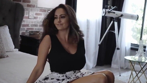 Real sex next to very sexy Ava Addams in HD
