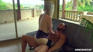 Huge boobs blonde hair cumshot