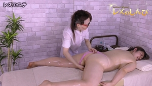 Japanese lesbian rub their clits together and fingering HD