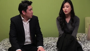 Slamming hard together with large tits korean girlfriend