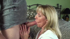 Facial starring deutsch blonde babe