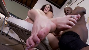Jayden Jaymes hardcore interracial pounding porn