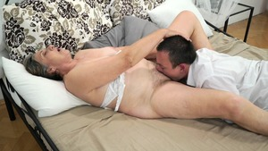 Ramming hard starring hairy mature