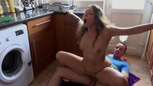 Hard nailing starring hairy stepsister