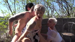 Hottest GILF Kathy White fingering in HD