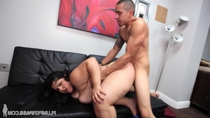 Young stepmom Karla Lane rough ass pounded in HD