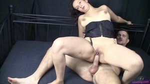 Small boobs czech mature cumshot at castings