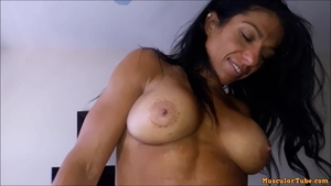 Big ass Alexis Rain pussy eating creampie