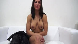 Solo muscle czech brunette got fucked hard