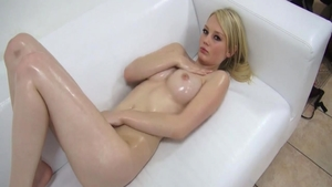 Cute czech babe oil hard sex in HD