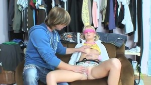 Wet czech teen chick goes for plowing hard