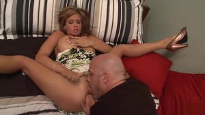 Huge boobs blonde babe Tory Lane has a taste for nailing