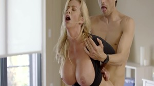 Real fucking with sexy Alexis Fawx & Xander Corvus