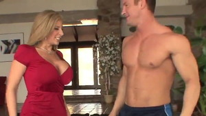 American Sara Jay got her pussy pounded