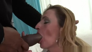 Hairy large tits mature rough doggy HD