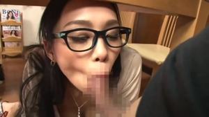 Real sex in company with amazing japanese